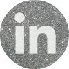 silver round linked in social media icon .png