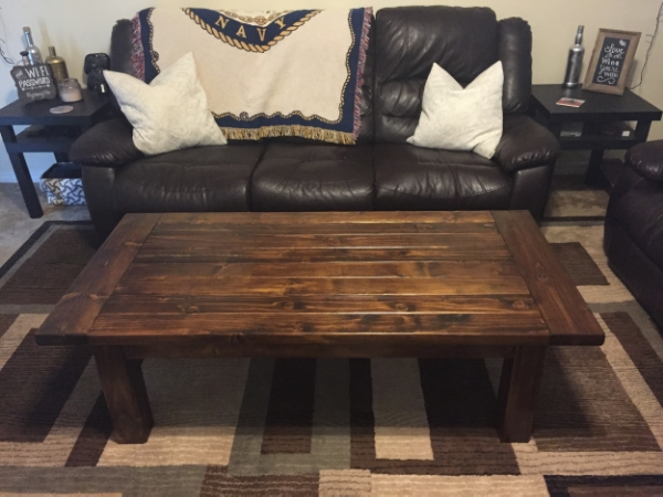 finished Tryde Coffee Table
