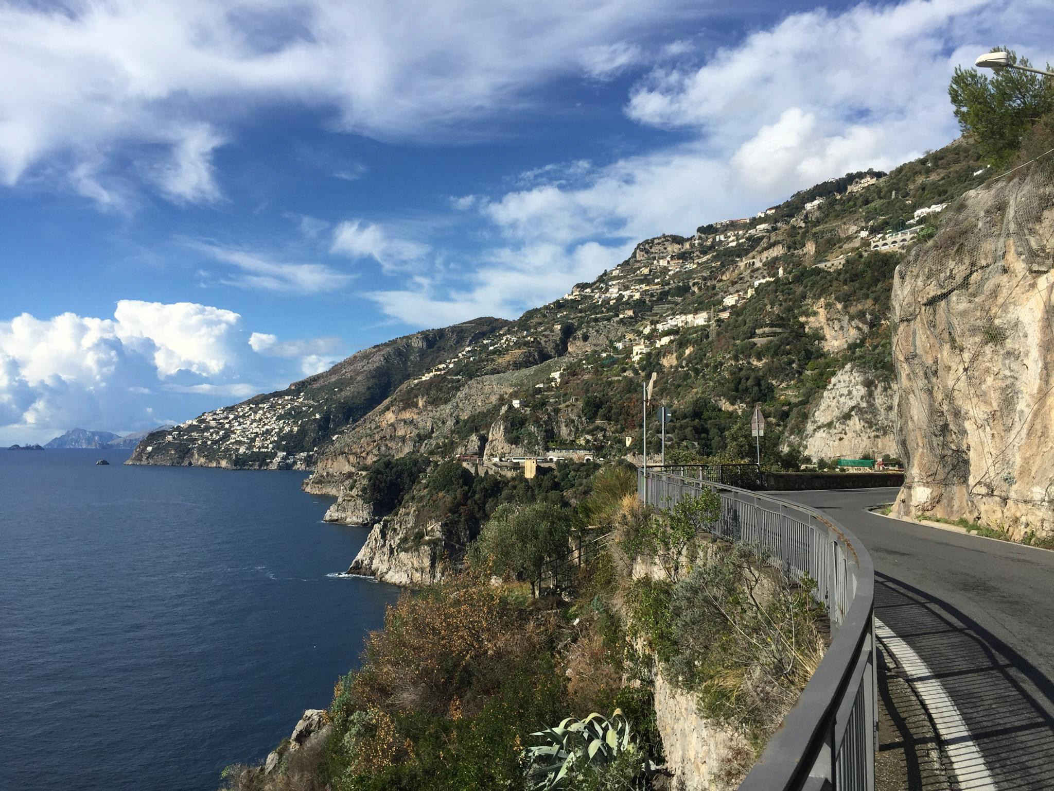 The Road to Positano, SS 163