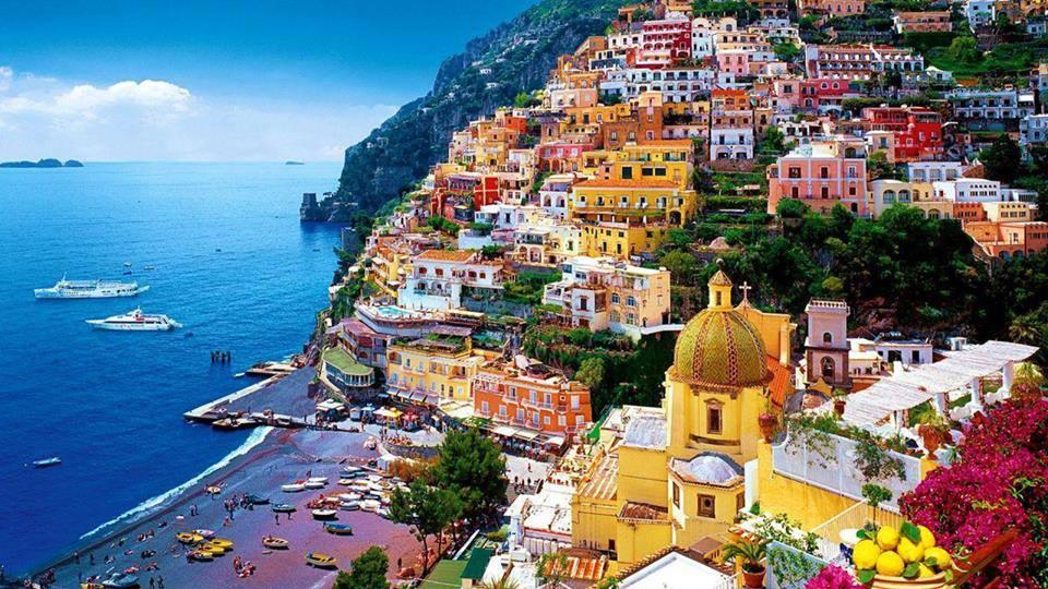 The always colorful Positano