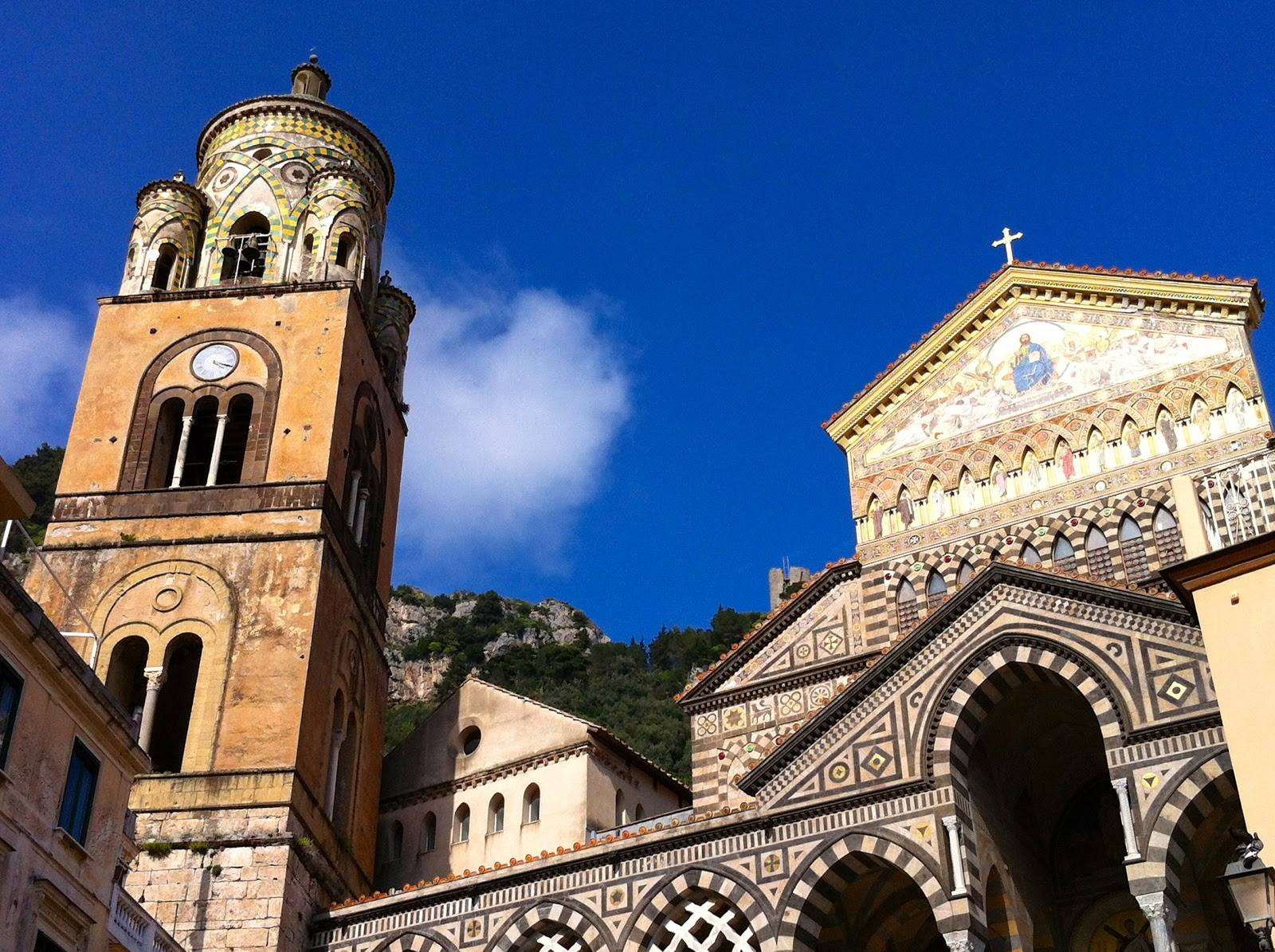 The Sant'Andrea Cathedral in Amalfi