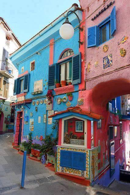 The shops of Vietri sul Mare