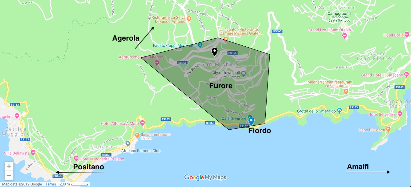 Click on the Map above to explore the Sauced & Found map of Furore