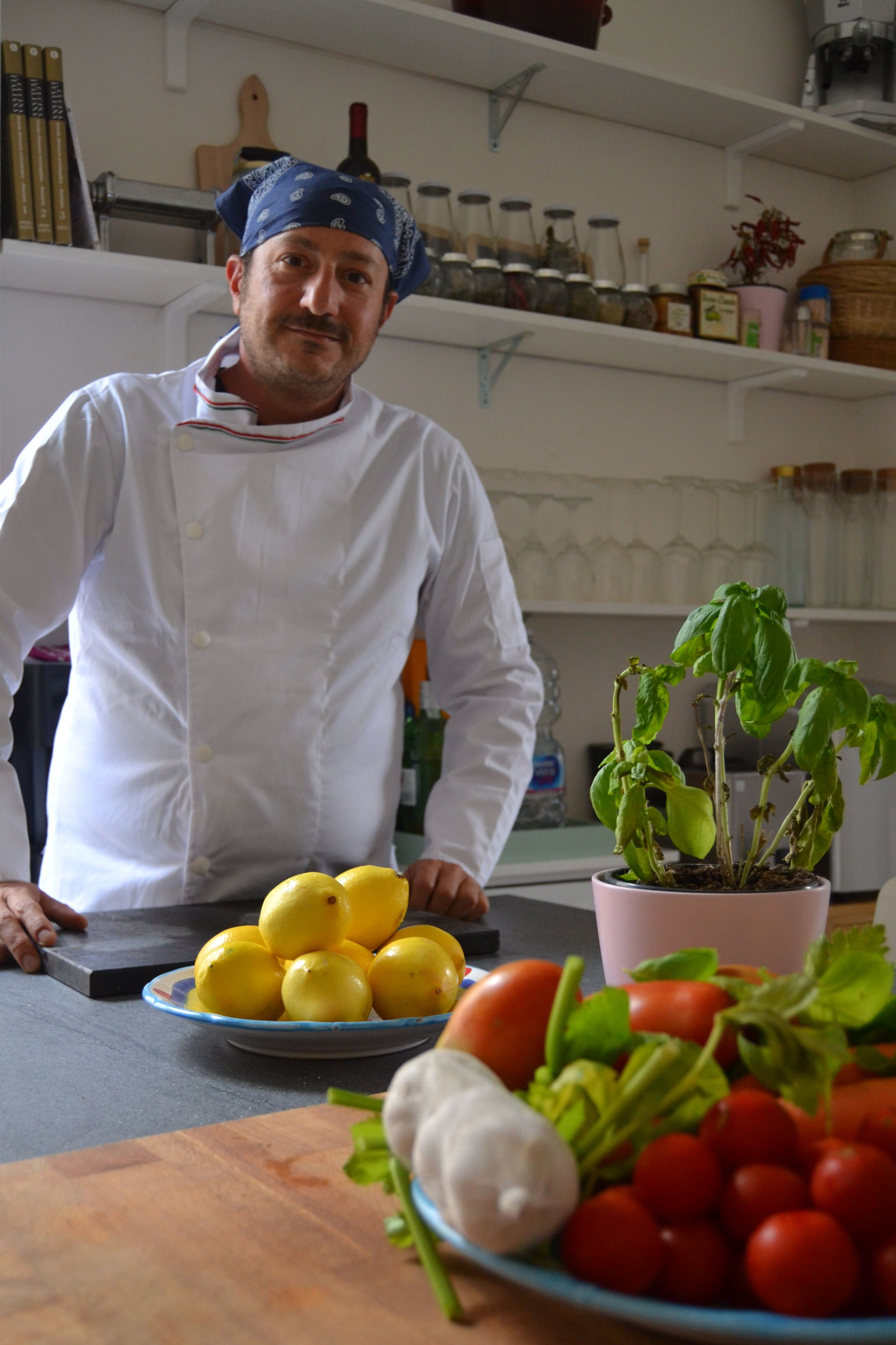 Our very own Chef Luca!