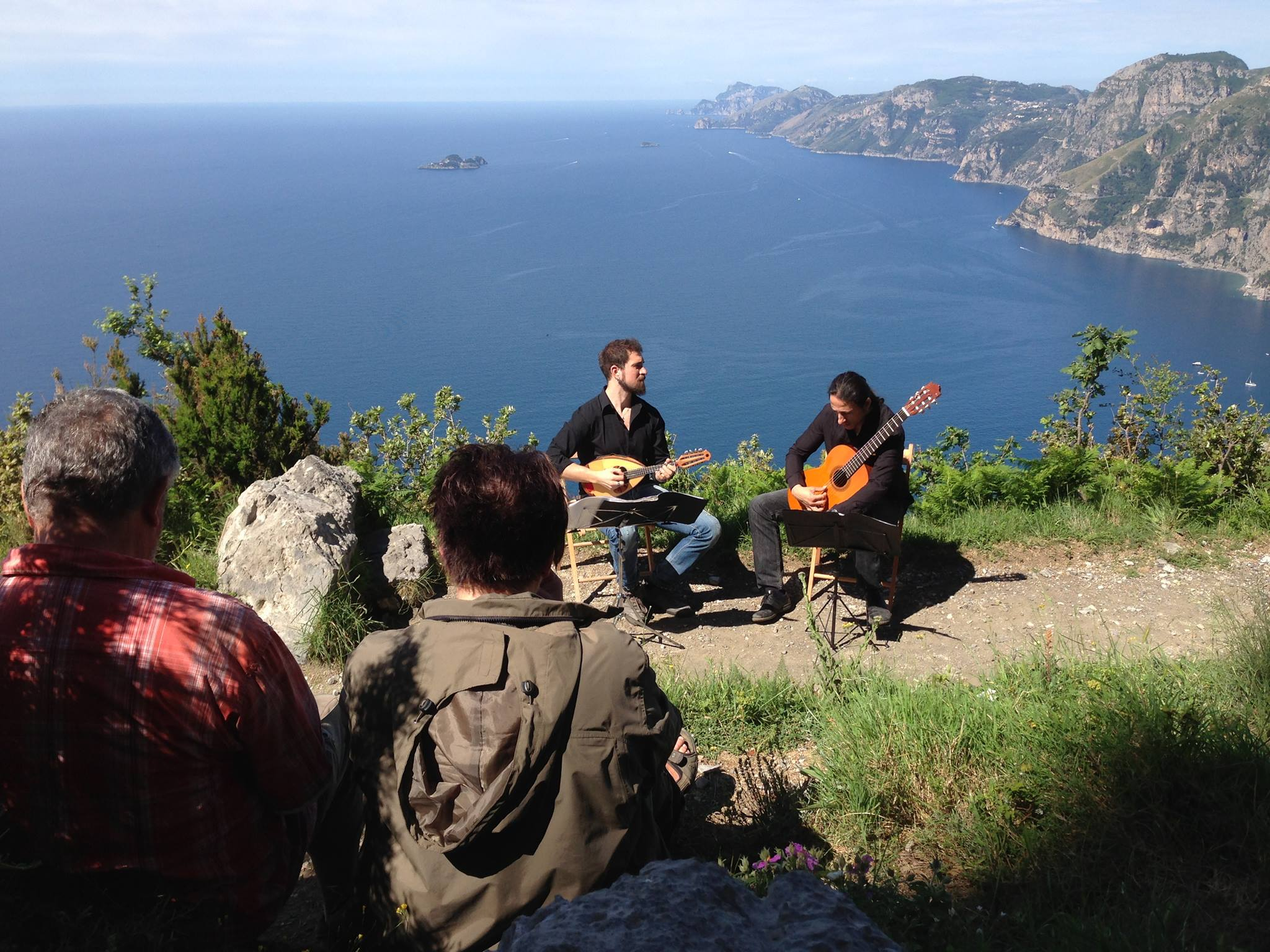 Music Festival in Praiano on the Pathway to the Gods