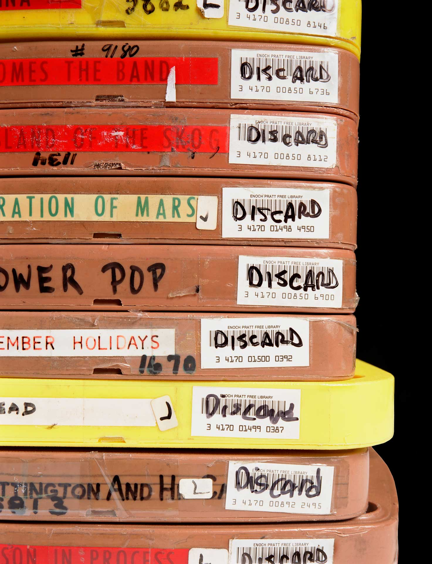 Discards (Enoch Pratt Library, Baltimore, MD)