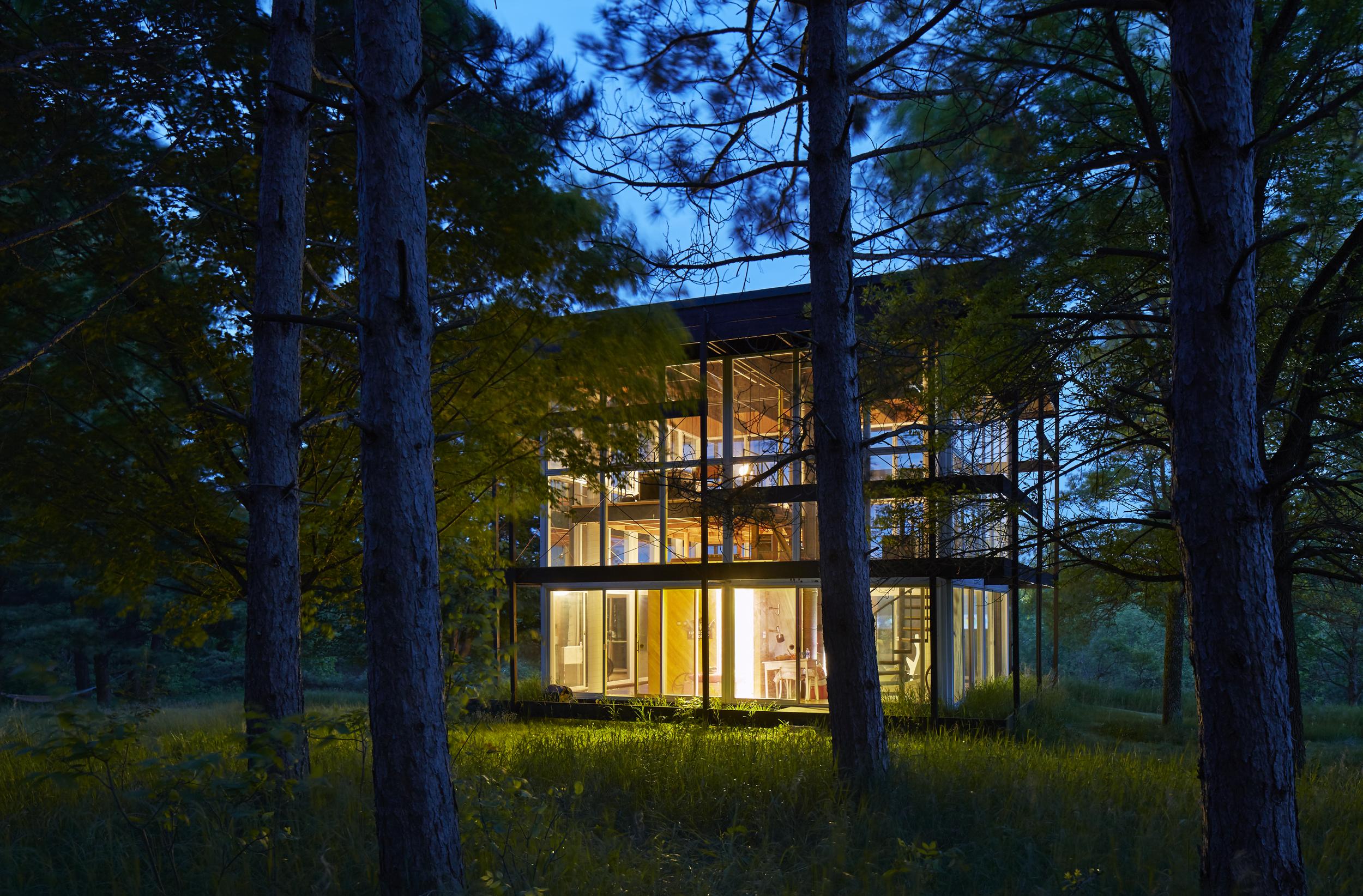 Glass Cube - Ralph Rapson Architects