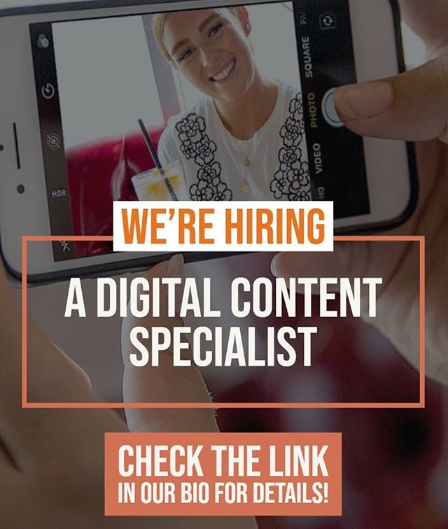 We've got exciting news! We're hiring a Digital Content Specialist at our Corporate Office in #vancouverbc  Check out our link in our bio for more info!