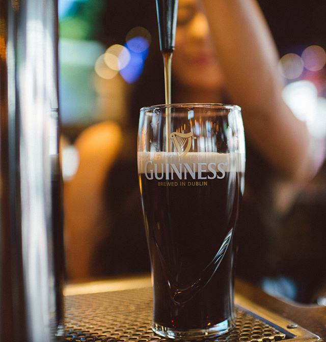 Cure your pre-Monday blues with a pint of @GuinnessIreland !