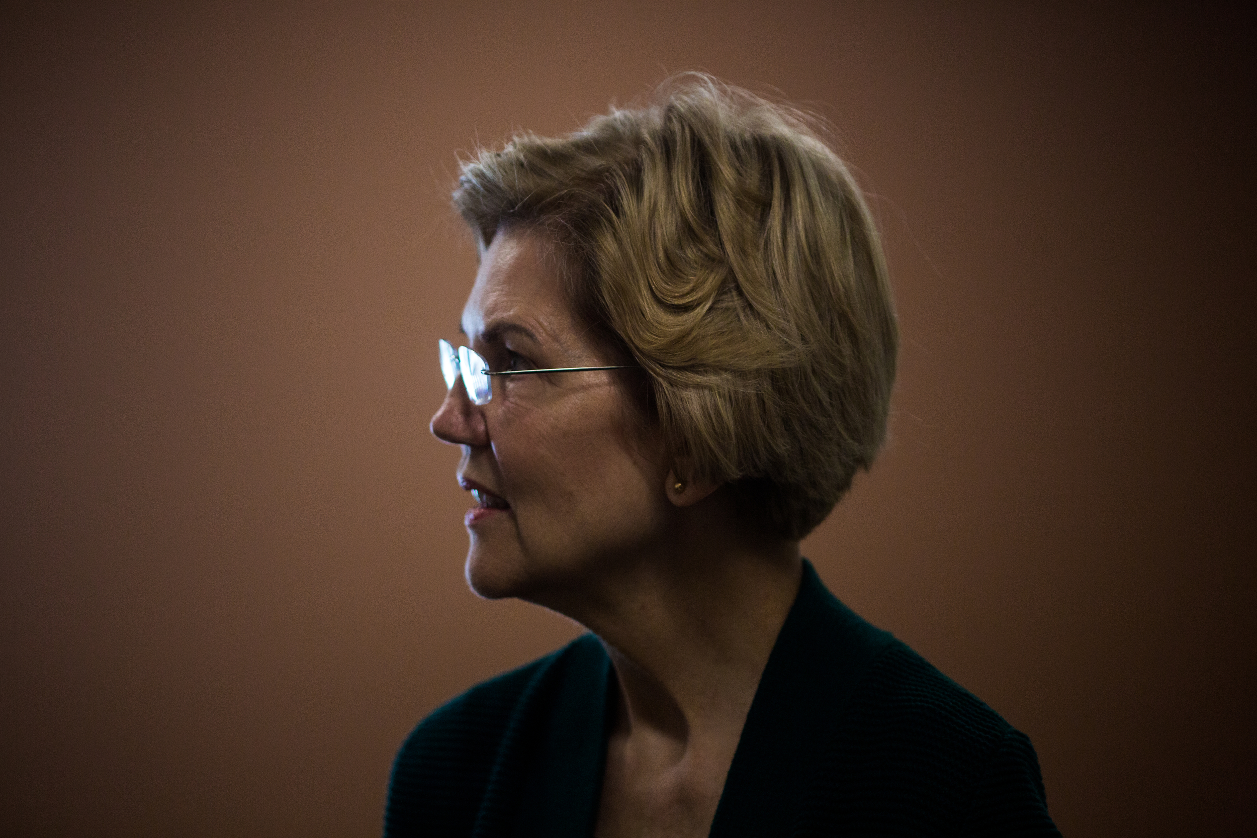 Senator Elizabeth Warren of Massachusetts visits the Friendship House, a recently renovated 28-bed substance abuse center in Bethlehem, New Hampshire on Saturday afternoon, March 23, 2019. Warren traveled to New Hampshire to hold several campaign stops including 'Community Conversations with Elizabeth Warren on the Opioid Crisis' at the Littleton High School in Littleton, New Hampshire. According to the National Institute on Drug Abuse, New Hampshire is second in the country for highest opioid-related overdose deaths. The U.S. Department of Health and Human Services recently announced New Hampshire will be allocated an additional $12 million to combat the crisis.
