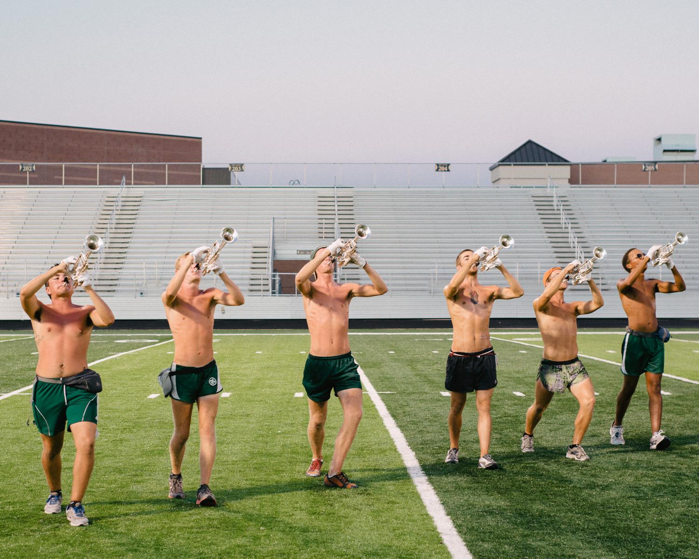 Scouts Trumpet Line
