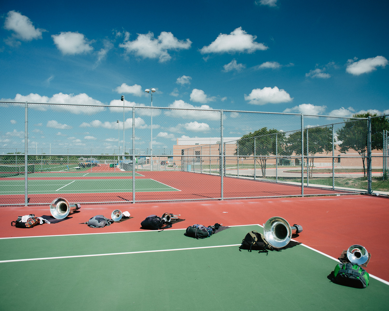 Tennis Court Horn Arc