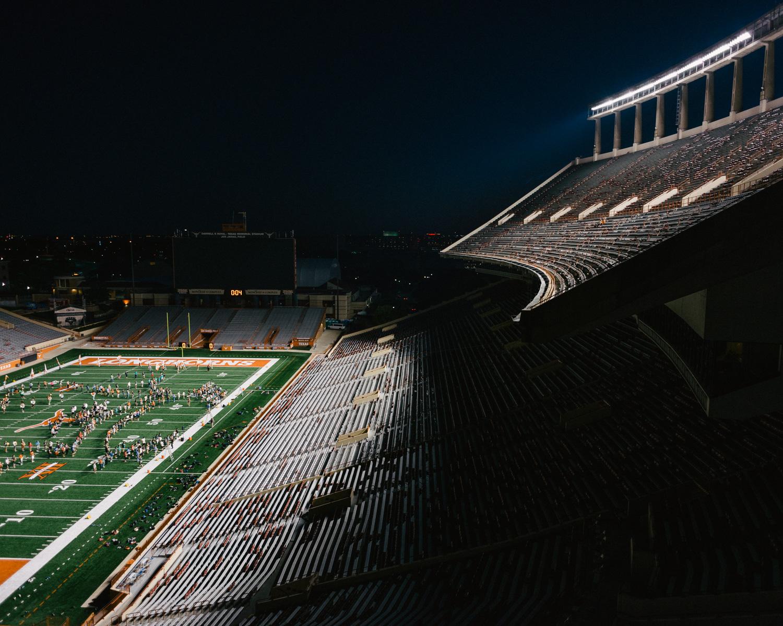 Stadium Night Rehearsal