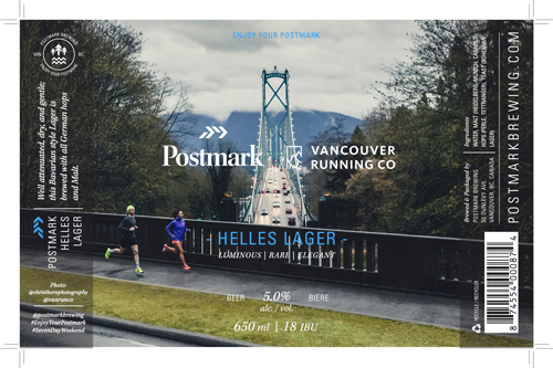 Vancouver Running Co Postmark Brewing