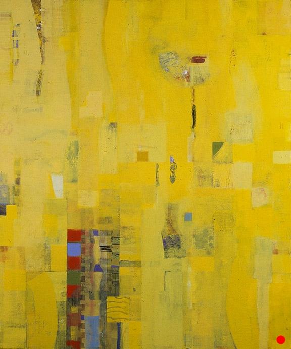 "Luminescence,   48"" x 40"" oil on wood, 1999,  SOLD"