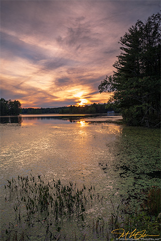 2018.09.22_0175695 Meadow Pond Sunset