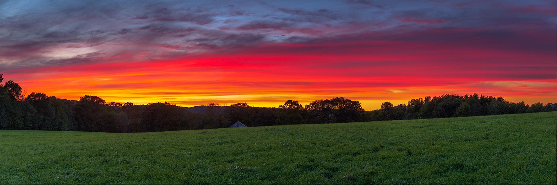 2018.09.22_0175797 Cottage Hill Farm Sunset