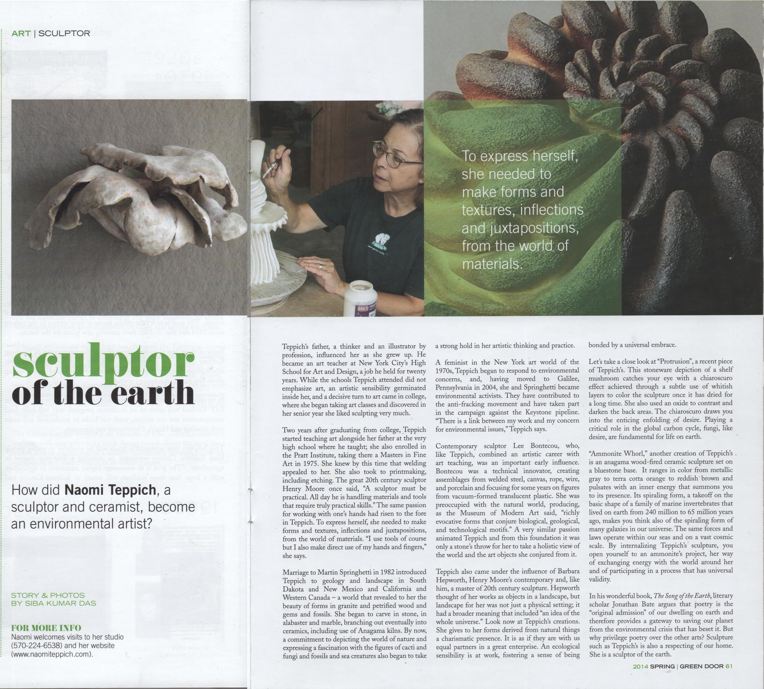 Green Door article:spring 2014.jpg