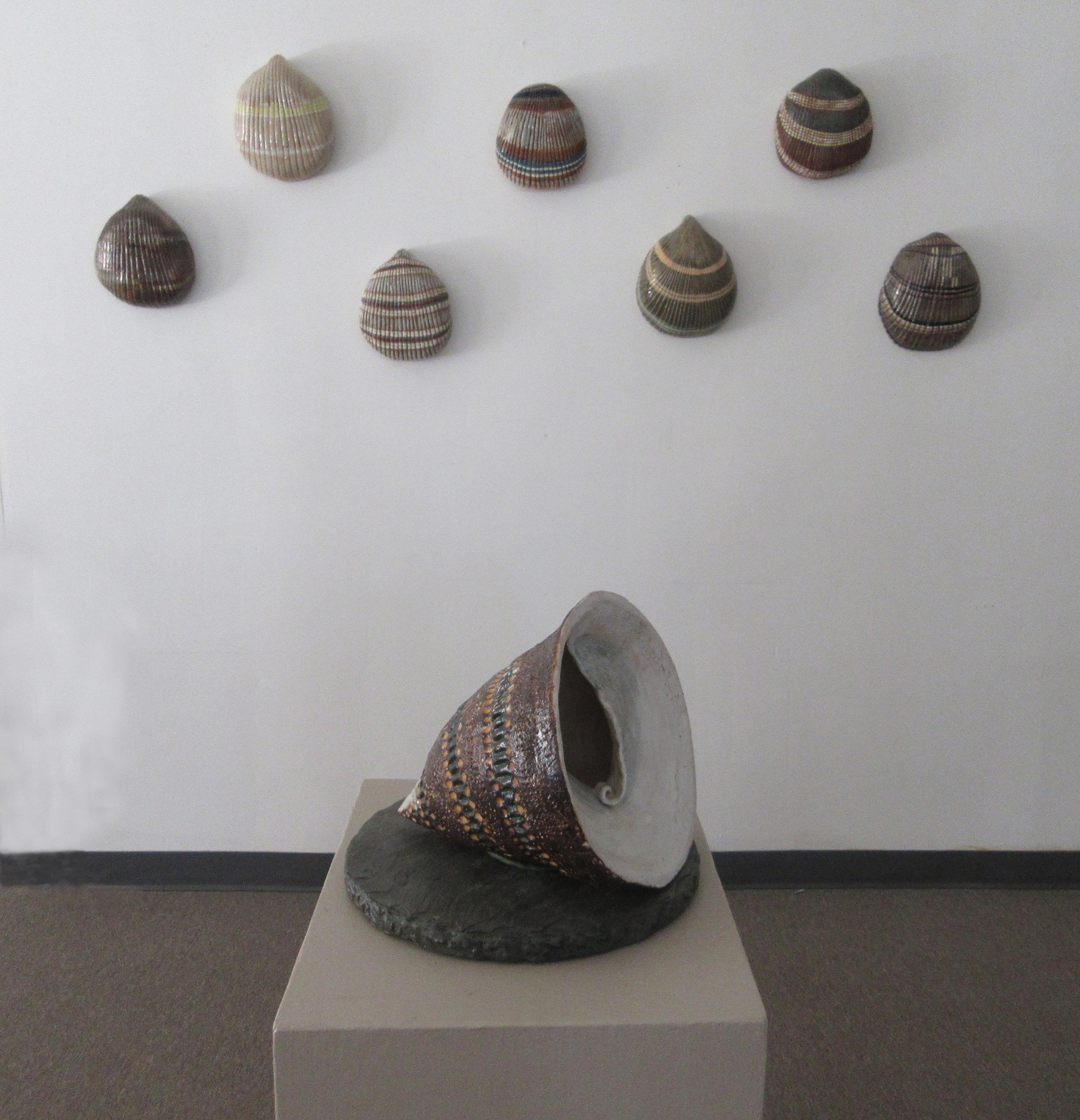 Sculptures at Left Bank Fifteen