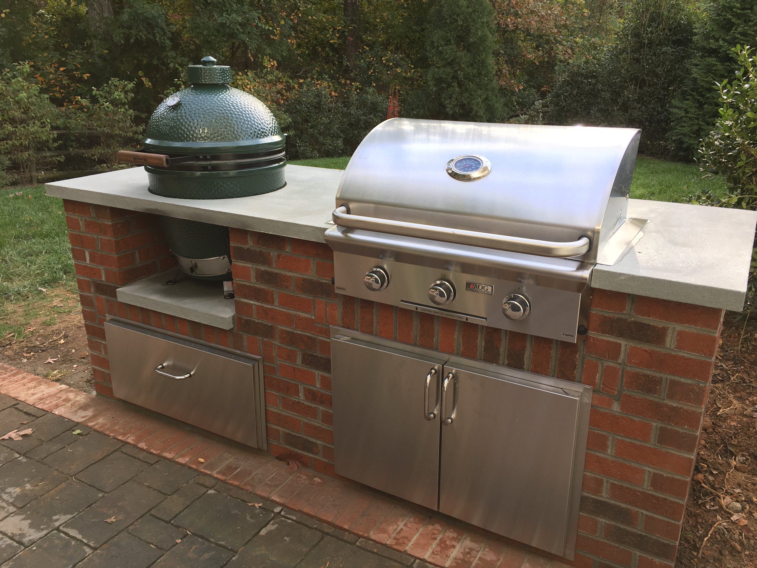 Outdoor Kitchens — Charlotte Grill Company