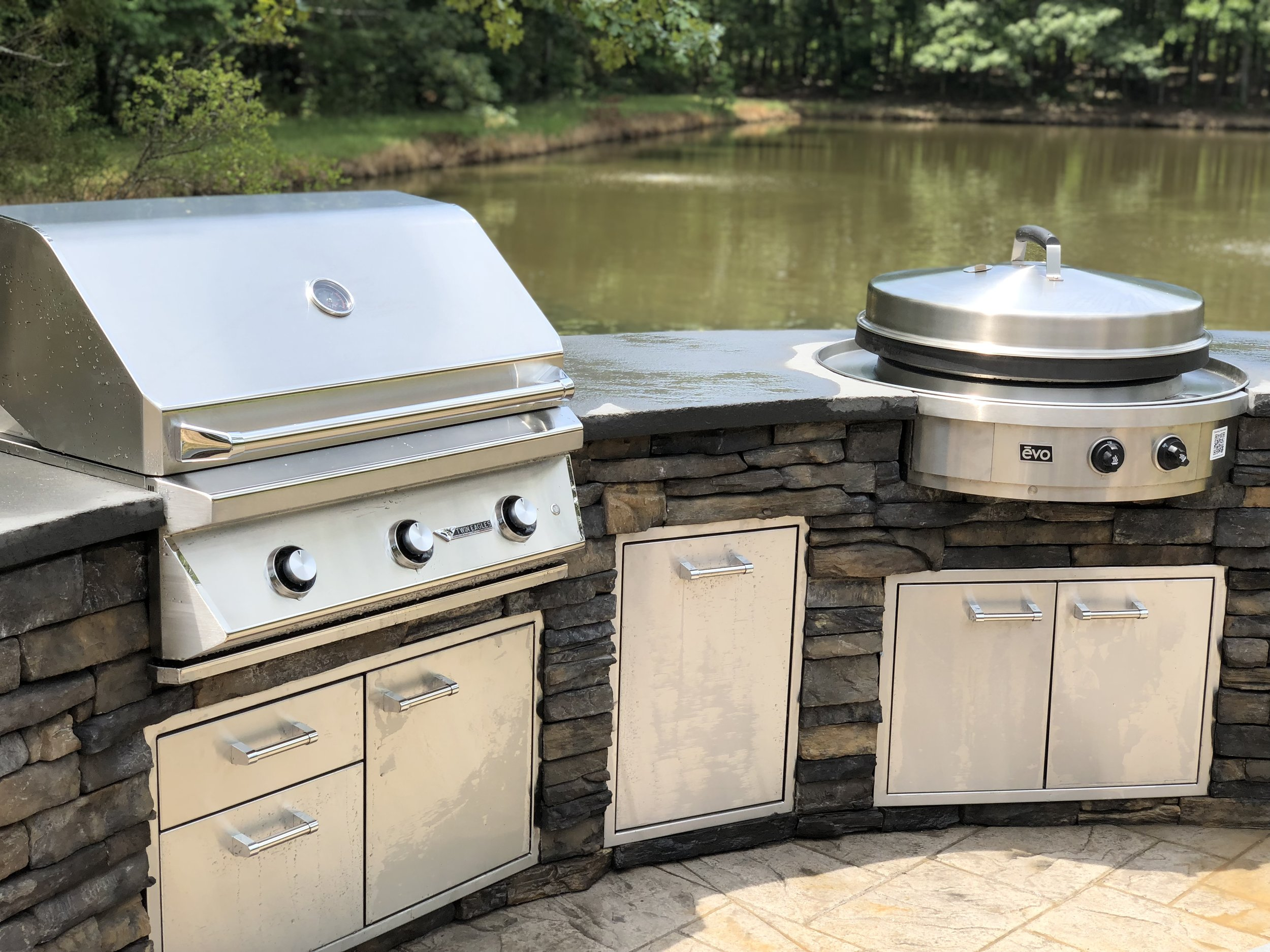 Outdoor Kitchen Built In Grill Mycoffeepot Org