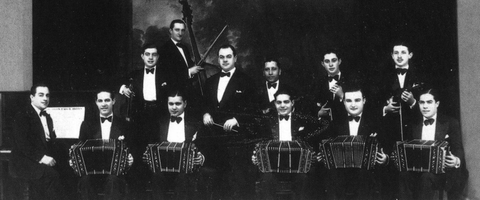 Canaro and his orchestra, c.1930.