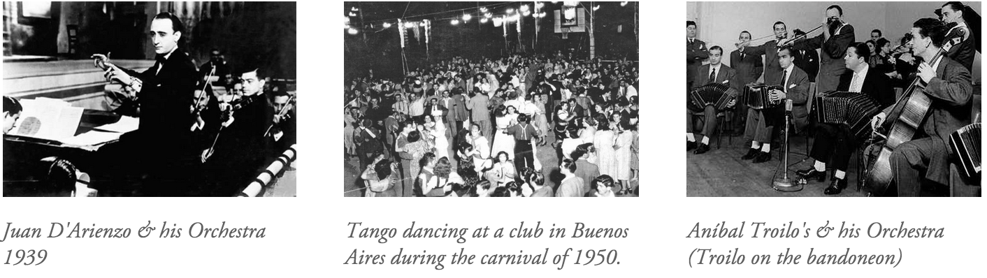 tango music, golden age