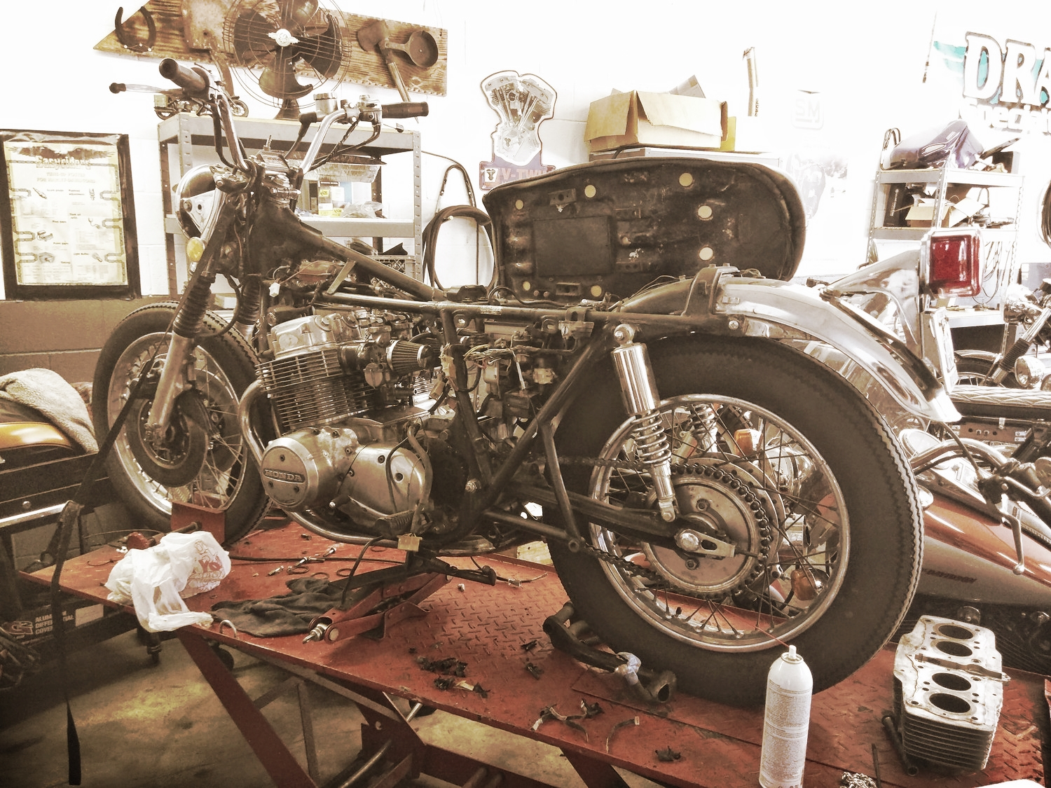 Whatever your need - Burbank Moto Garage has your fix.