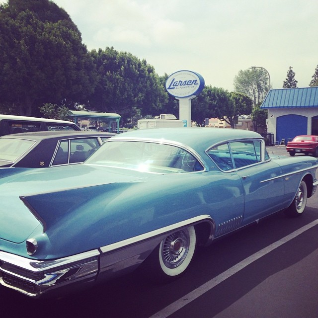 Check out this beauty #carservice #autoshop #autorepair #vintagecar #larsenauto #culvercity #smogcheck
