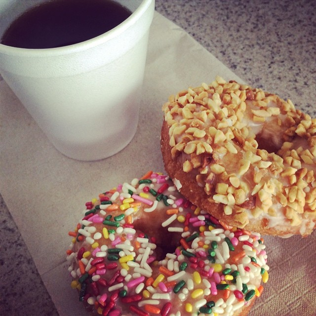 We have #donuts and #coffee while you wait! Come on in! #culvercity #culvercityauto #carservice #autorepair #smogtest #larsenauto