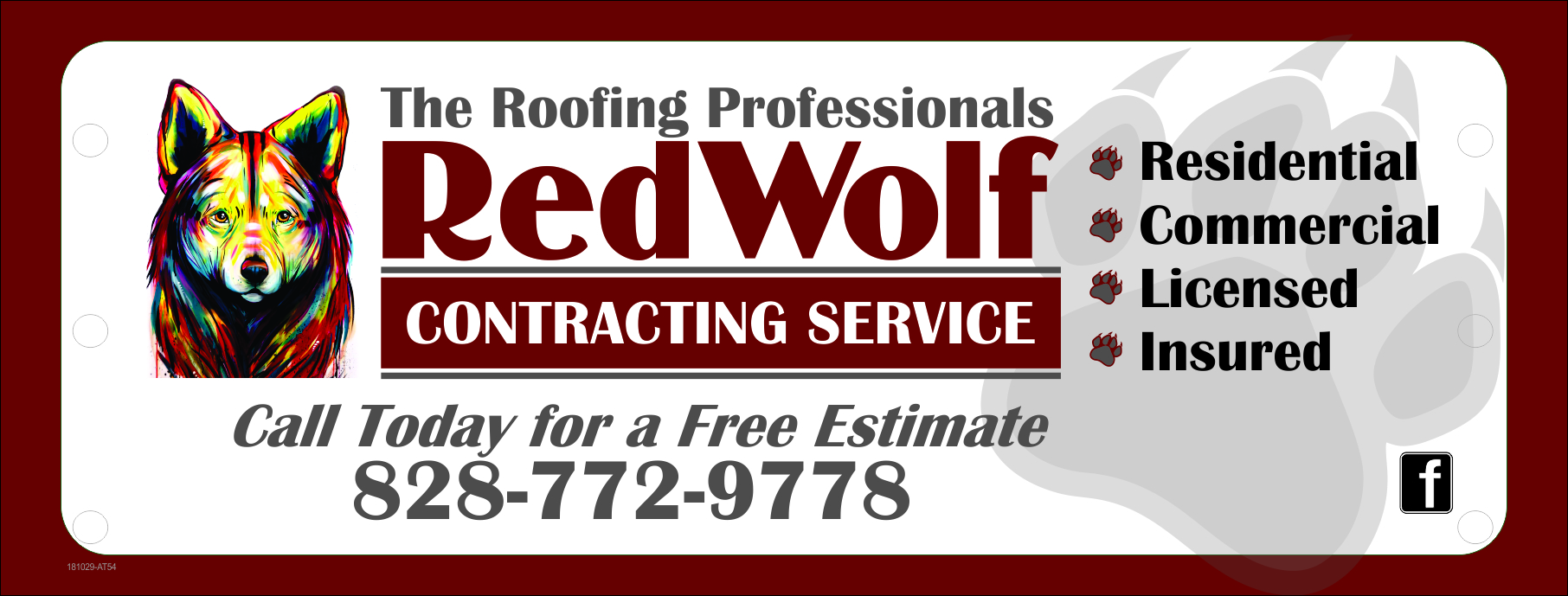 Contact my local trusted roofing source Matt at RedWolf Contracting Services to take care of all of your roof replacements. From shingles, to metal roofing, and even commercial rubber membrane, Matt has the resources and solutions to take care of your job in a professional and cost effective manner. Call (828) 772-9778 or visit  nc-roofers.com  to set up your free roof inspection.