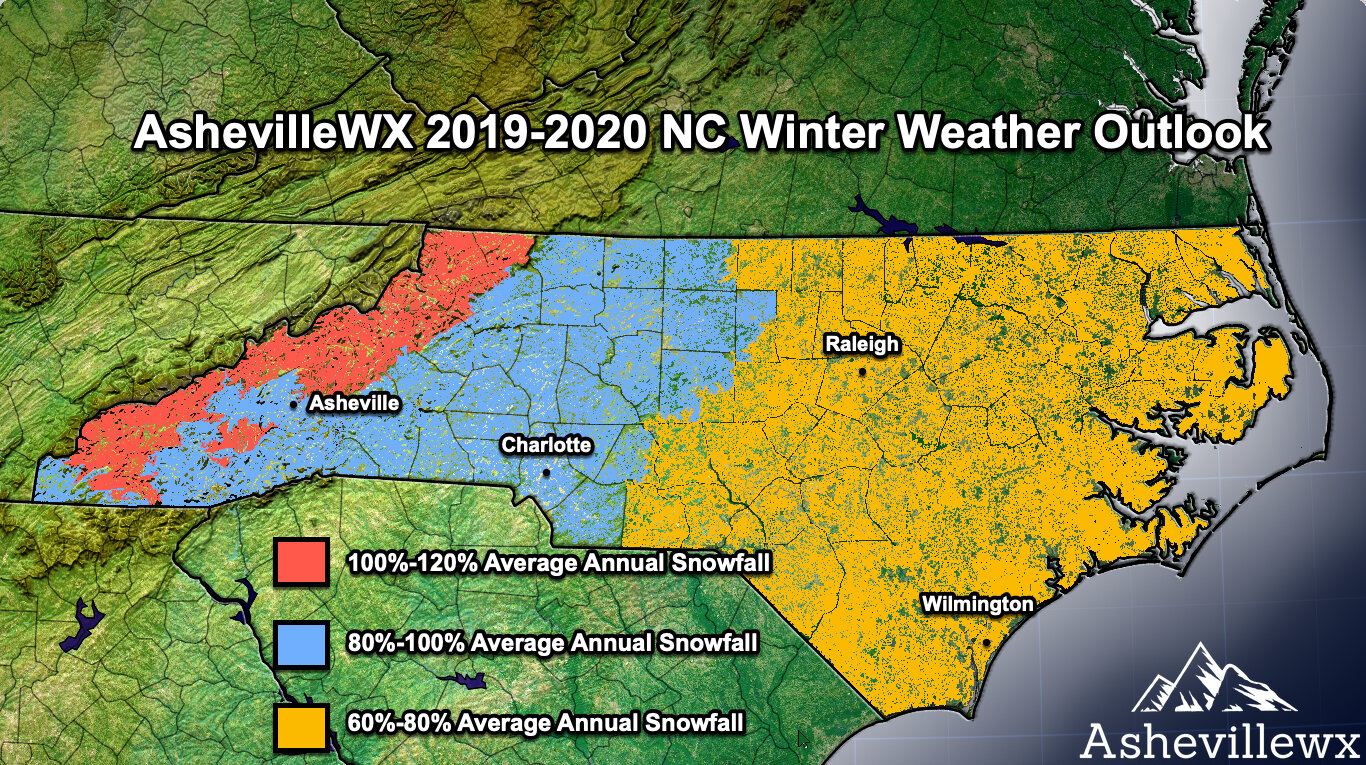 Weather For South Carolina On Christmas 2020 2019 2020 AshevilleWX Winter Weather Forecast Volatile Winter