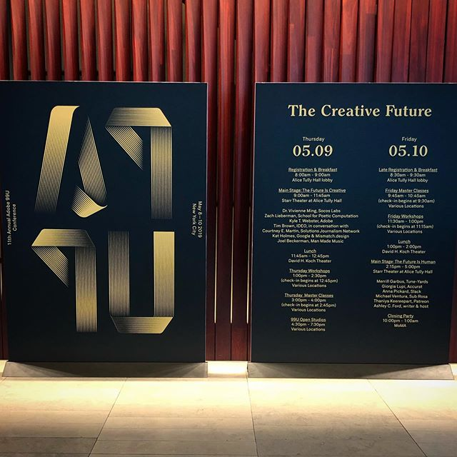 @99u conference 2019 day one... Amazing! #99uconference(find out more in our instastories)