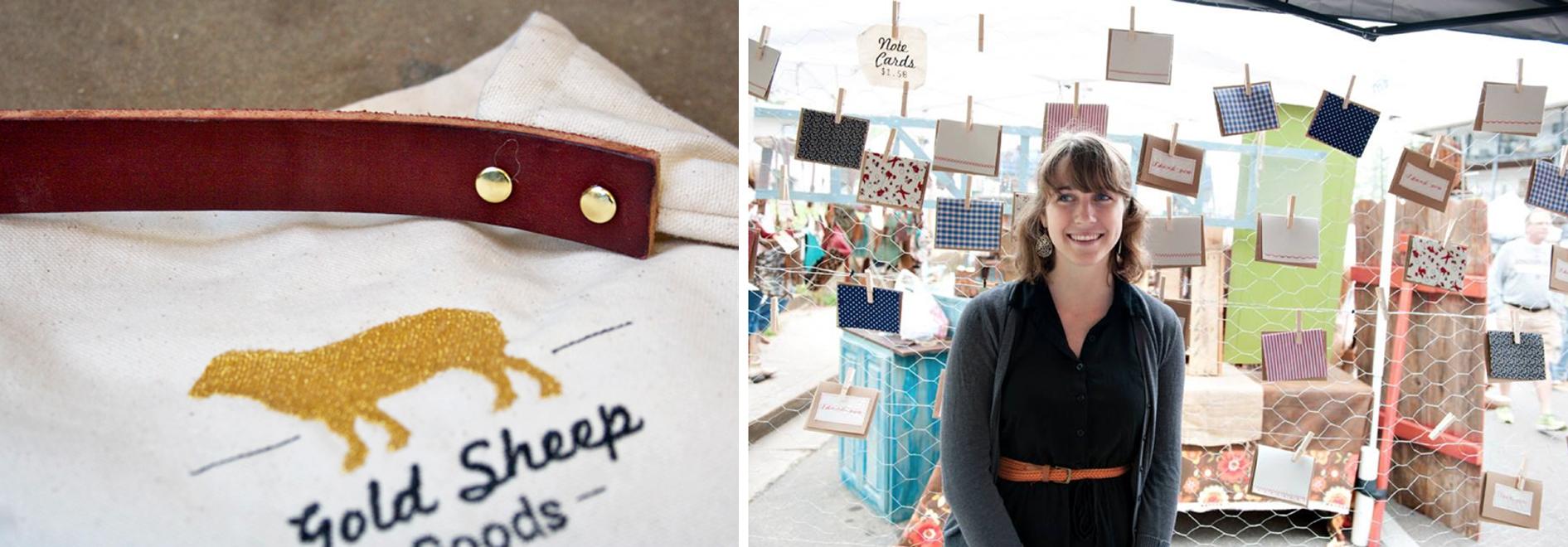 Gold Sheep Goods (a fiber arts company)