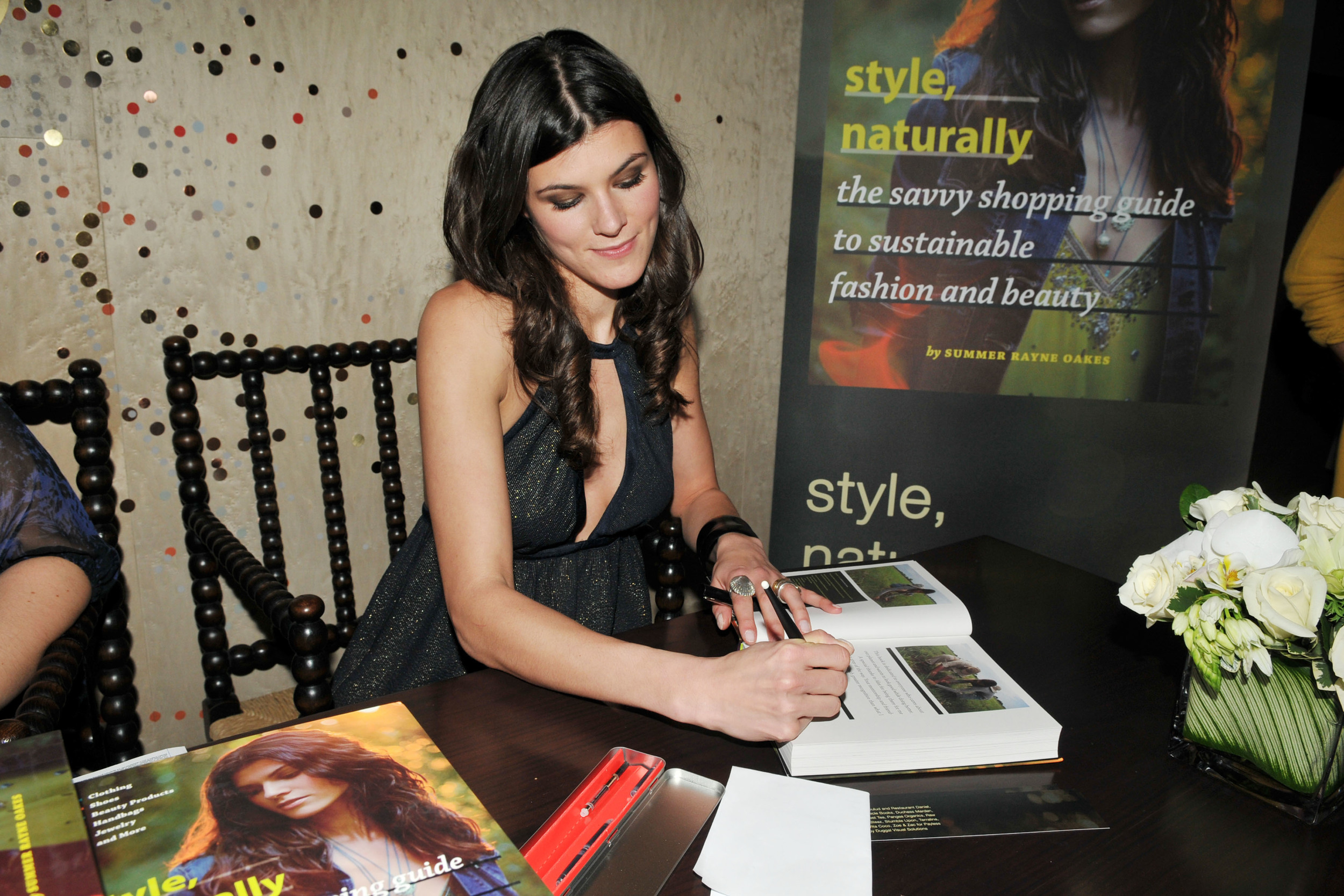 Style, Naturally book signing at the Stella McCartney store in NYC. Photography by: Patrick McMullan.