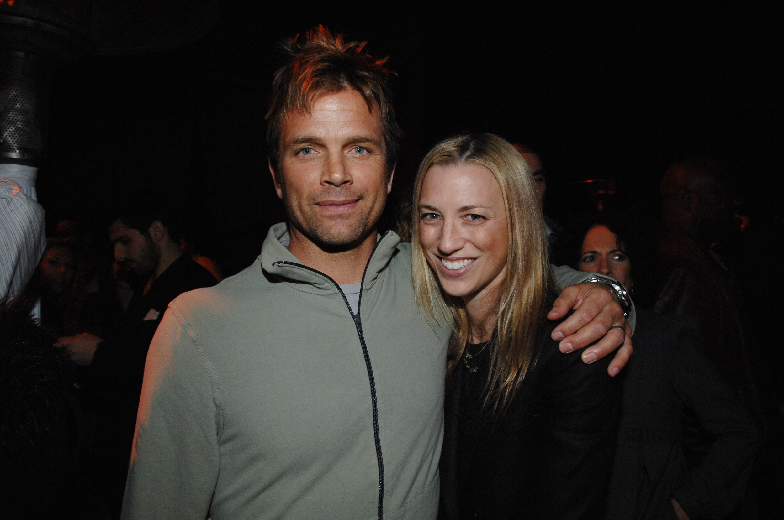Actor David Chokachi and Susan, Director of Sustainability at Gucci had been wonderful supporters from the beginning.