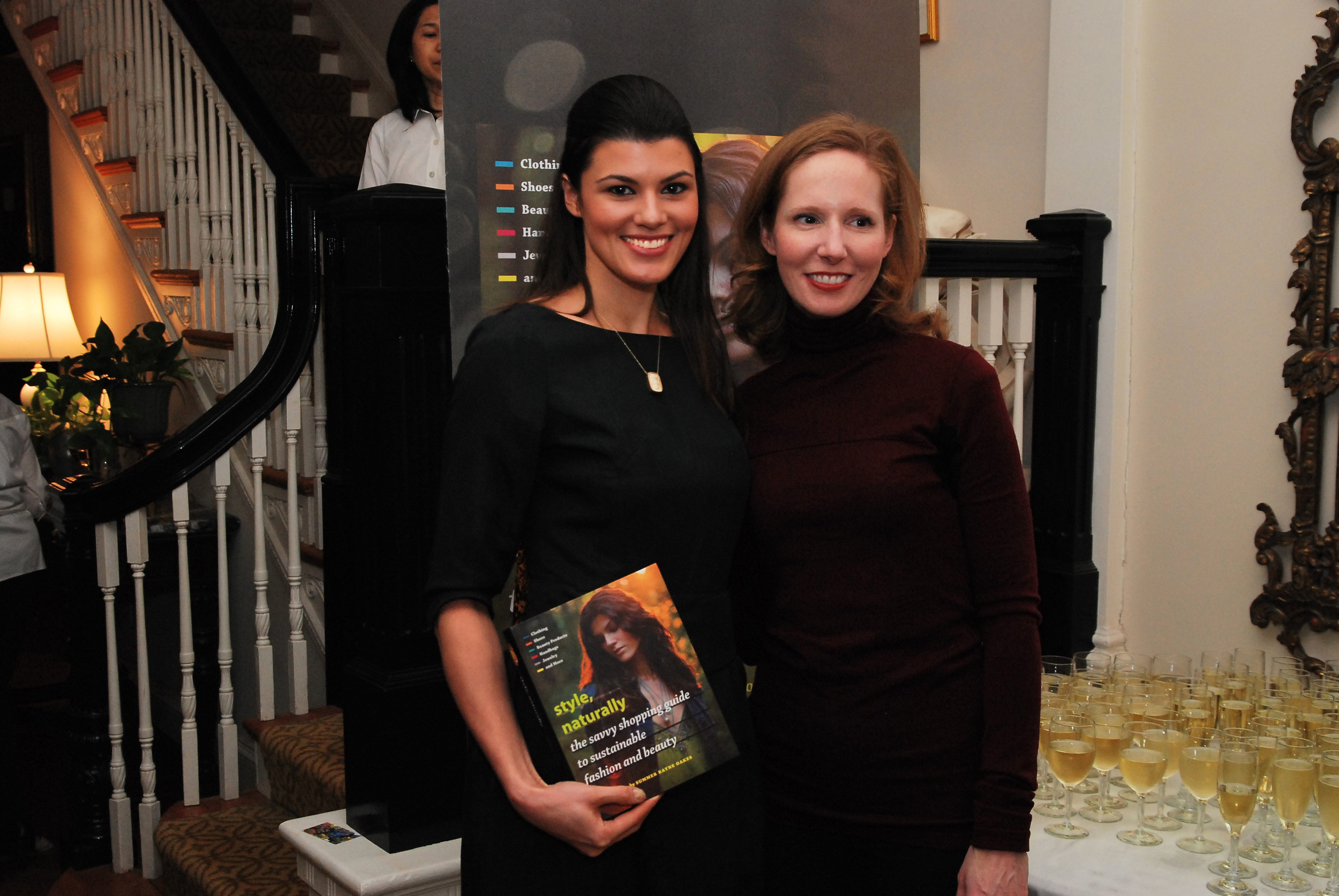 Hosting a  Style, Naturally   launch party in D.C. allowed me to see my friends in the policy sector.