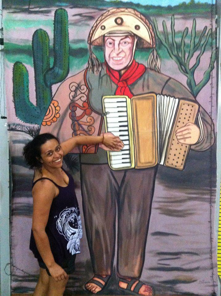 Com Luiz Gonzaga, Recife, hiver 2014.jpg