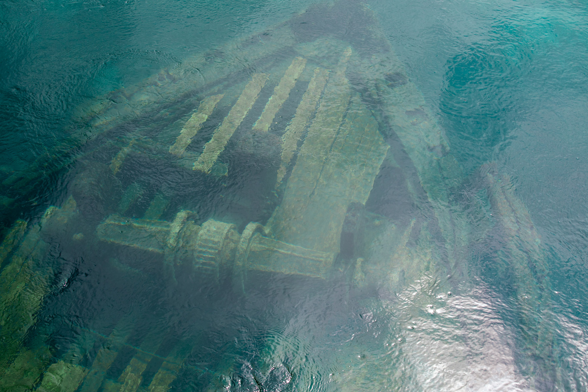 The Sweepstakes - Shipwreck in Big Tub Harbour