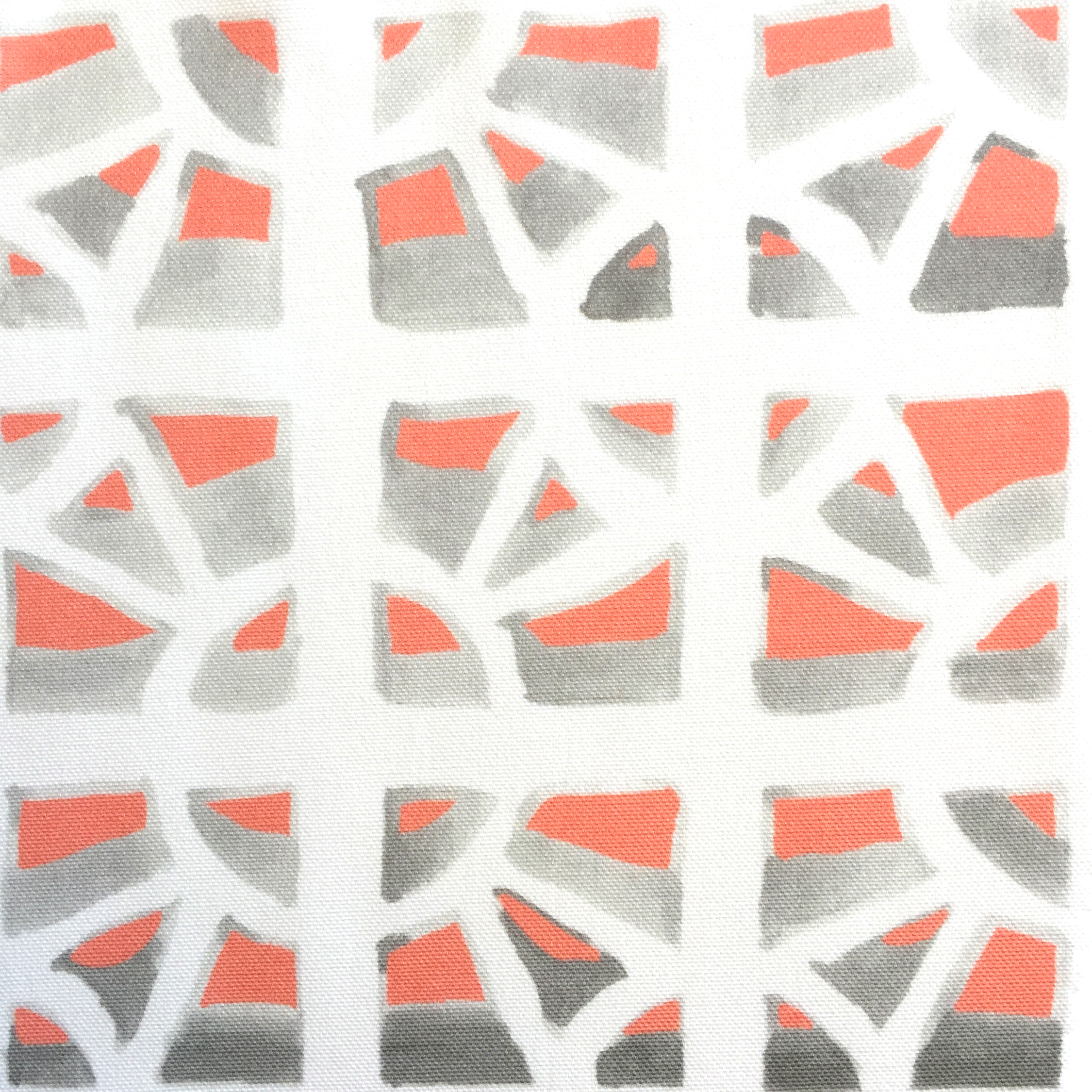 Breeze Block in Sunset Pink  PALM SPRINGS COLLECTION