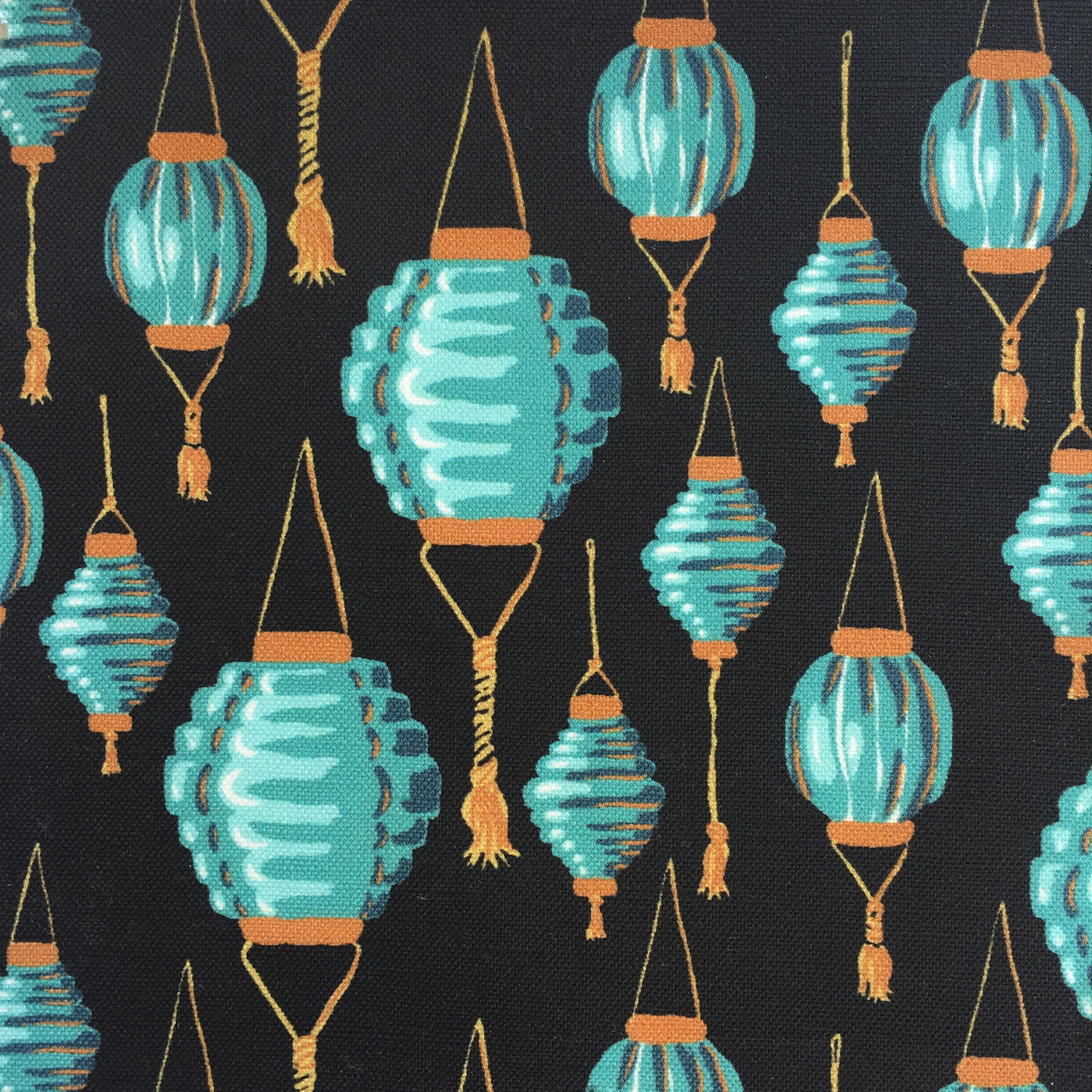 Lanterns in Black  CHINOISERIE COLLECTION