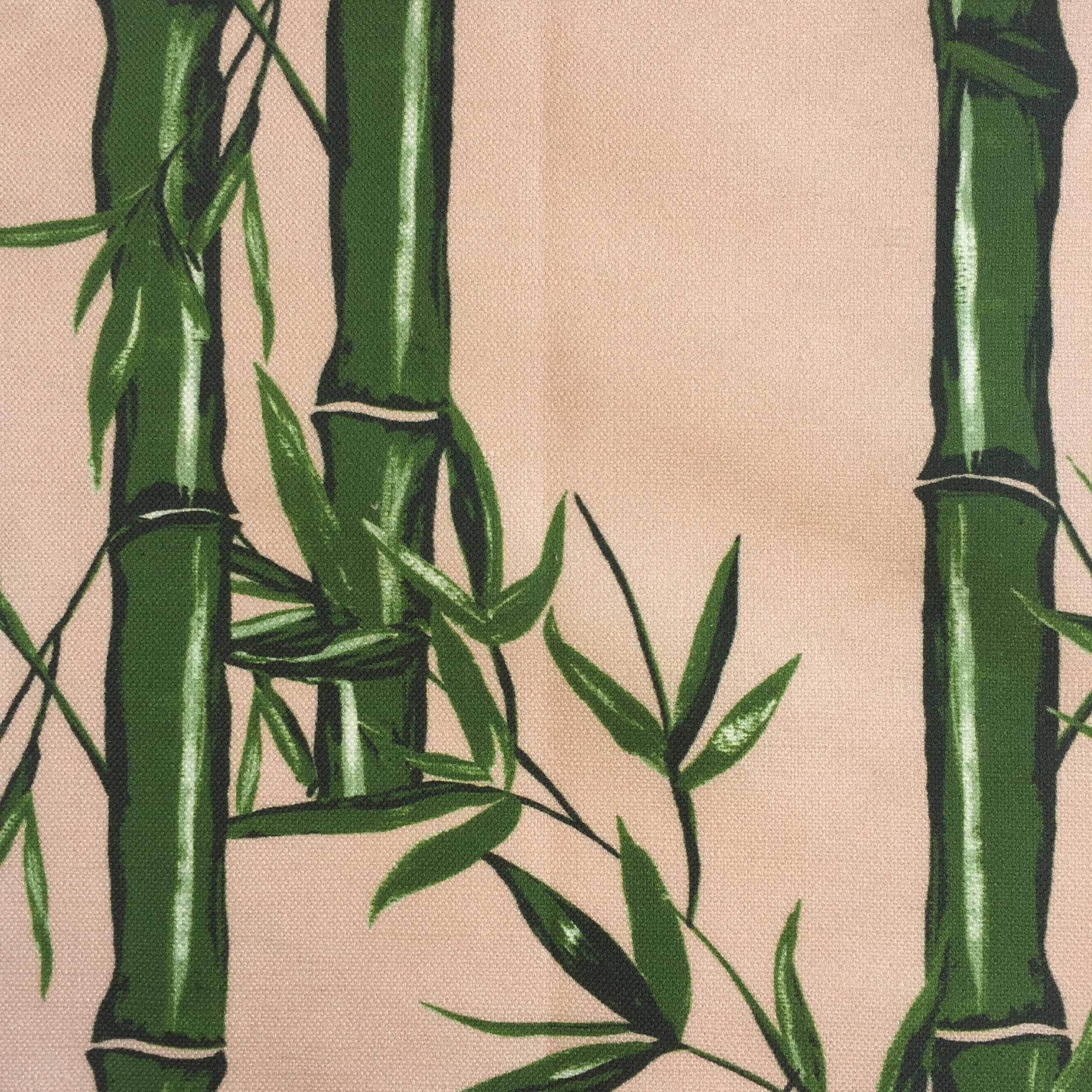 Bamboo Floral in ROSE/GREEN  CHINOISERIE COLLECTION