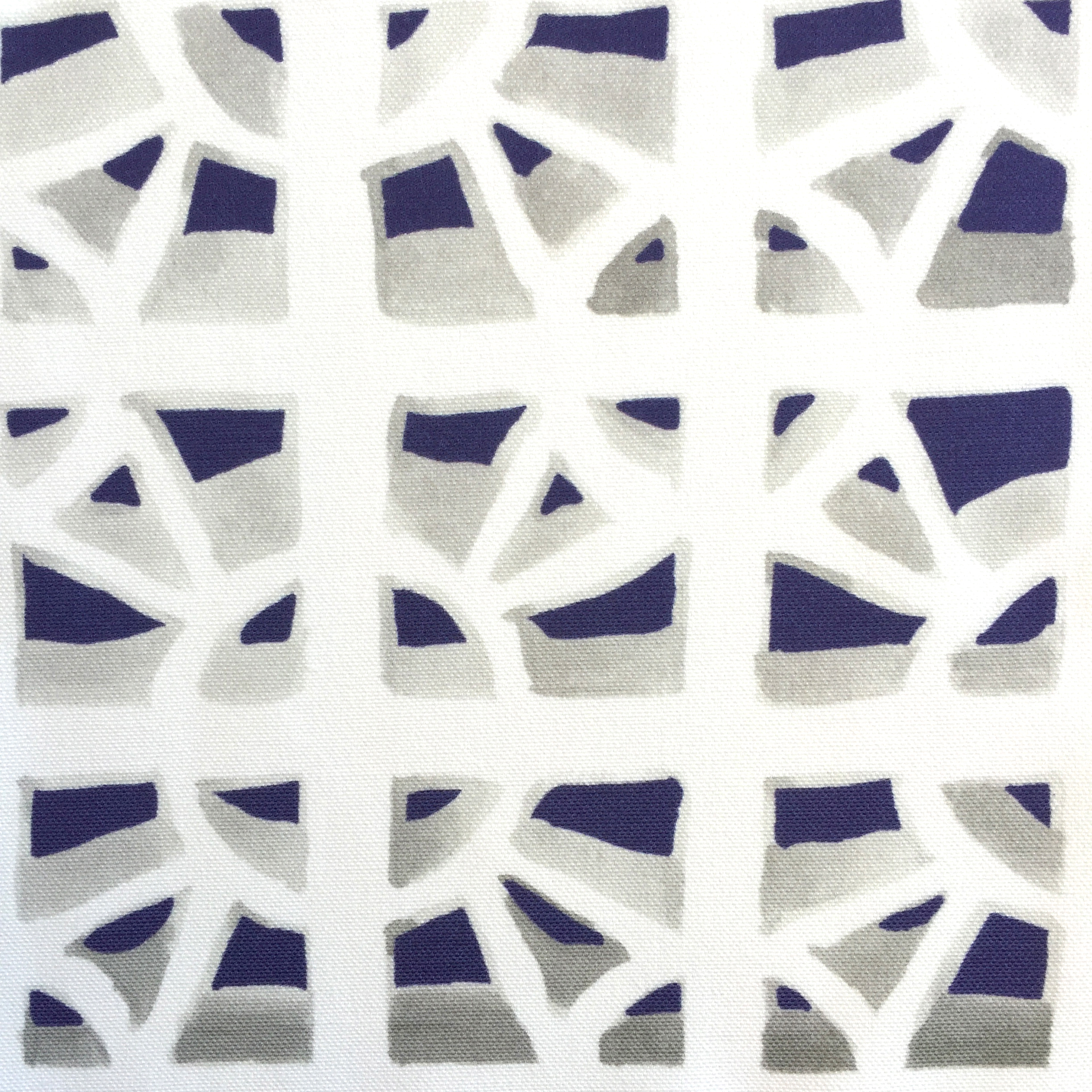 Breeze Block in NAVY  PALM SPRINGS COLLECTION