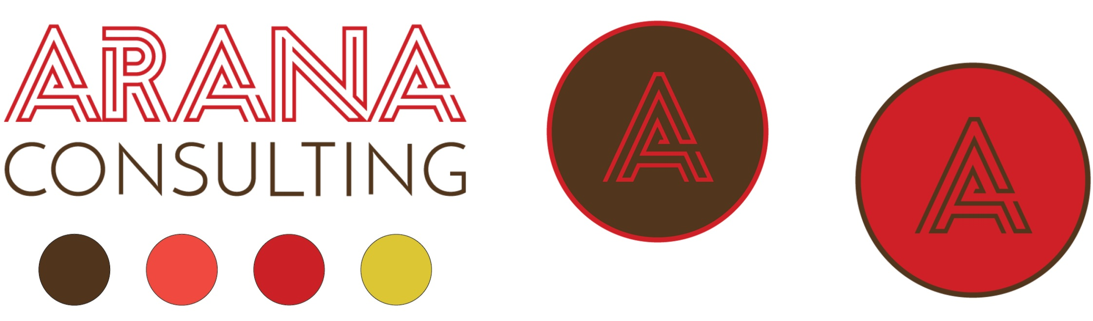 Arana Consulting branding sample