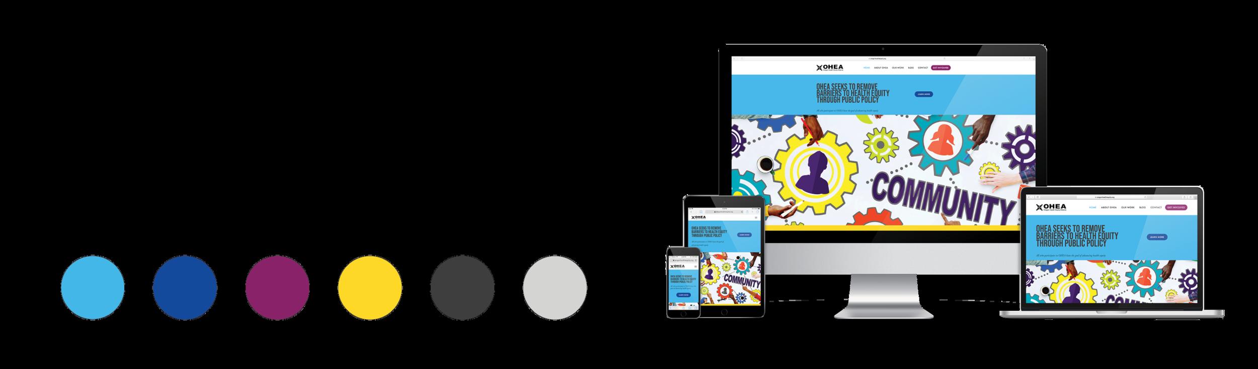 OHEA website sample