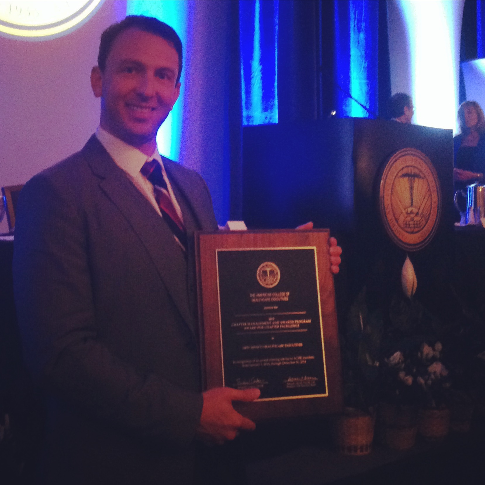 Congratulations for achieving Fellow status, Michael Ell!