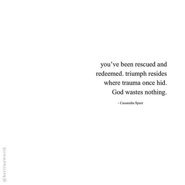 """""""God wastes nothing!"""" 🙏🏼"""