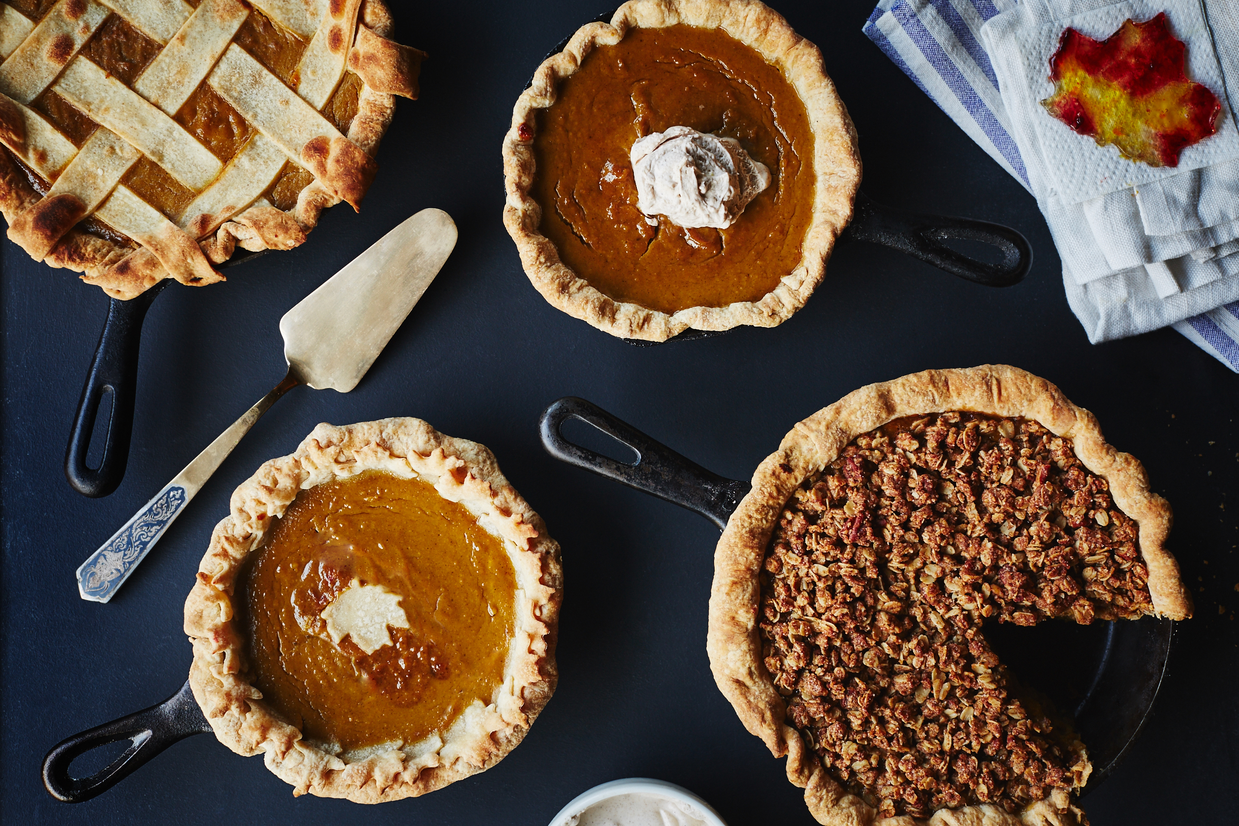 Food Photography Pumpkin Pies