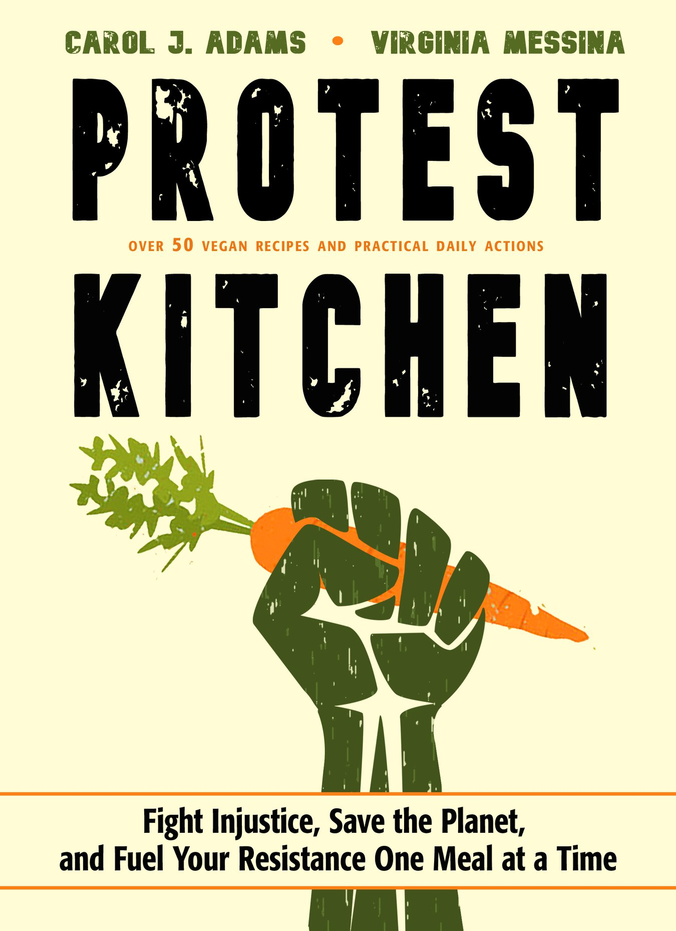 - Virginia Messina and I have been thrilled by the number of book clubs and reading groups focusing on our book Protest Kitchen. Below you will find some discussion guides and questions for your meetings!