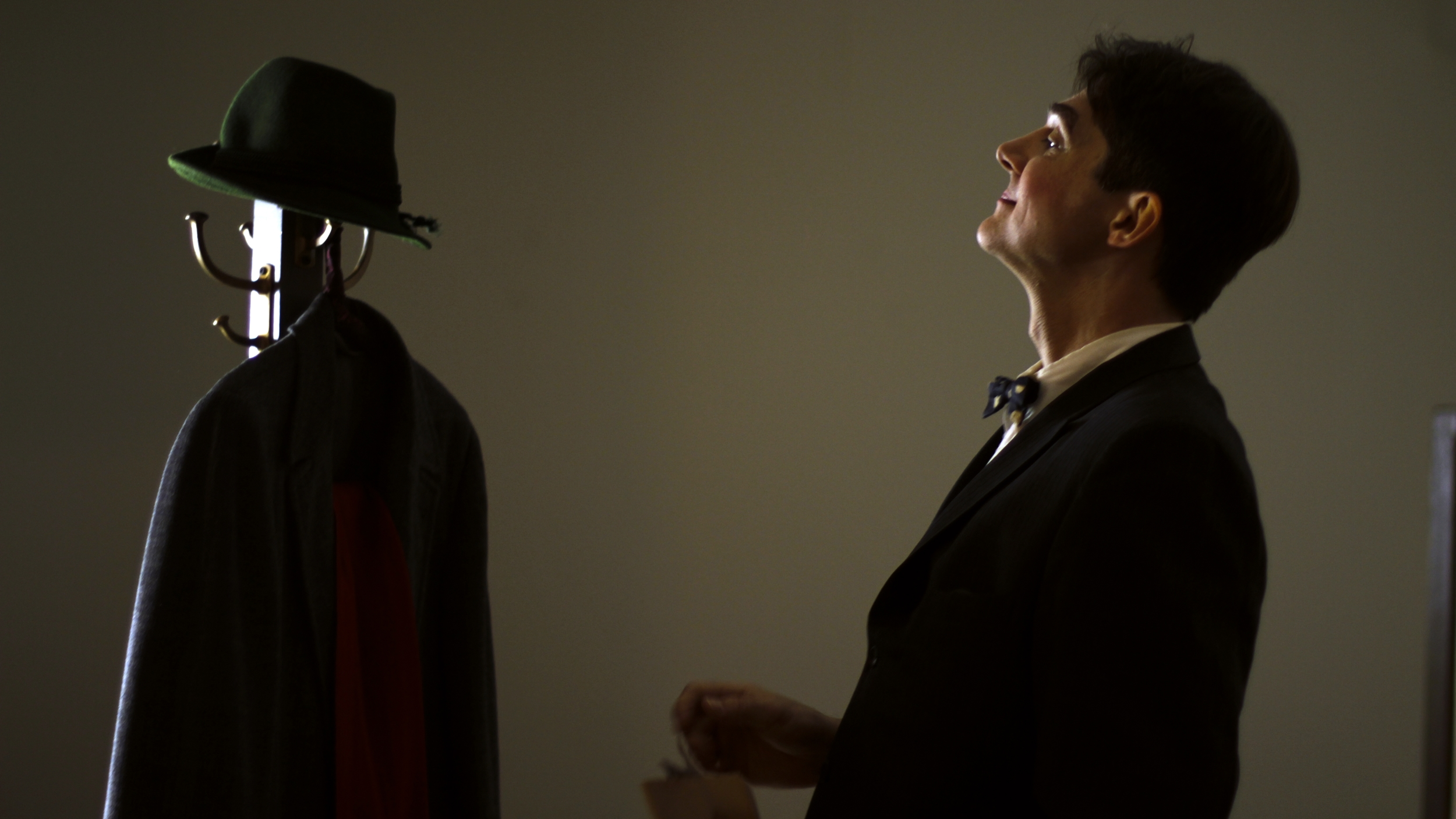 """Terence Cranendonk in """"I Dreamed of Rats"""". Photo by  Miriam Bennett, Moving Studio Productions."""